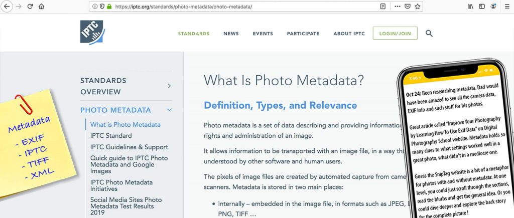 what is image metadata